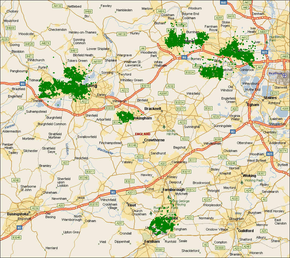 Netvigator covered postcodes